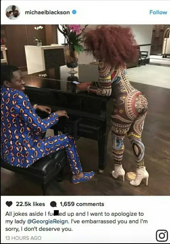 Comedian Michael Blackson Suing For 130 Million 10 Million For Every Inch Of His -9149